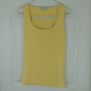 ZARA W/B COLLECTION~YELLOW TANK TOP~SZ M